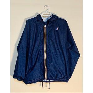 K-Way blue Raincoat